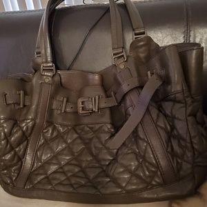 Burberry purse/ semi totes. Beautiful dark brown.